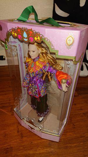 Disney Alice in Wonderland collector doll New in box for Sale in La Mesa, CA
