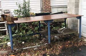 Metal Work Table Shop Bench for Sale in Queens, NY