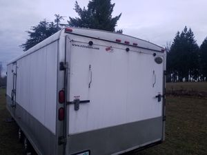28ft Snowmobile trailer. Royal cargo. for Sale in Graham, WA