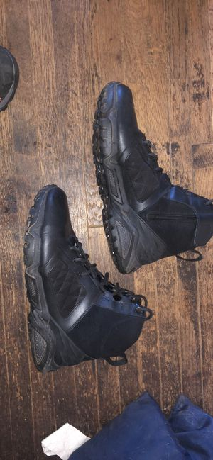 Under armour military / LEO work boots for Sale in Charlotte, NC