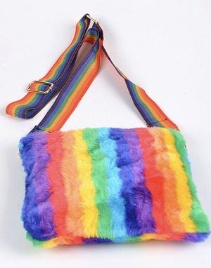 Rainbow Fur Crossbody bag for Sale in Atlanta, GA