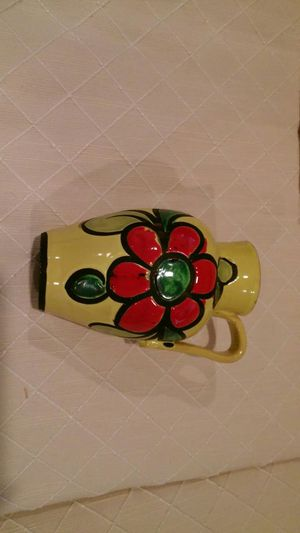 Yellow Flower Vase for Sale in Alexandria, VA