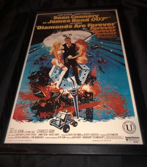 James Bond 007 collectible Year 1971 UNiTED ARTISTS CORPORATION for Sale in Bellevue, WA