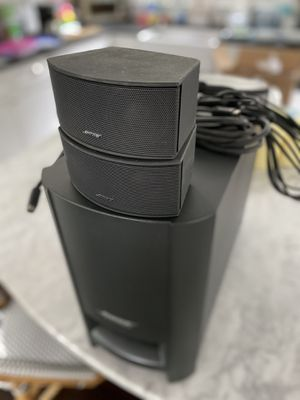 Bose Speakers — Subwoofer and two speakers for Sale in Boston, MA
