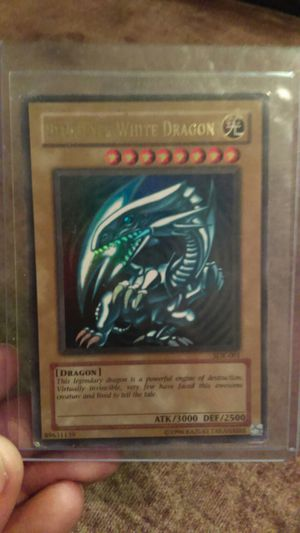 Collectible 3 Yu-Gi-Oh cards and one Pokemon card for Sale in Phoenix, AZ