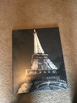 Eiffel Tower Canvas 12x8 for Sale in Bloomington, IL