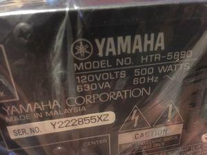 Yamaha HTR-5890 AV Receiver 980 watt 7.1 amplifier tuner audio video NEW for Sale in Mesa, AZ