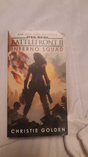 star wars battlefront 2 inferno squad New York times bestseller for Sale in Pasadena, TX