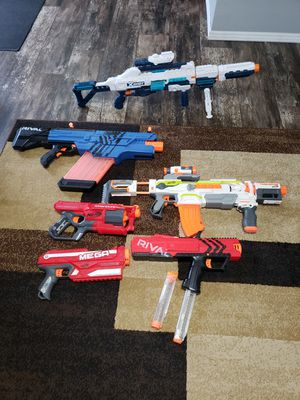 Nerf gun collection for Sale in Dallas, TX