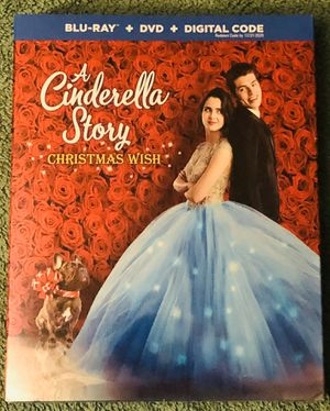 A CINDERELLA STORY CHRISTMAS WISH BLU-RAY SEALED for Sale in La Grange, IL
