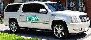 Beautiful2OO8 Cadillac Escalade Wheels Cool$1.000 for Sale in Santa Ana, CA