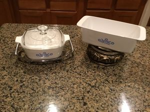 Corningware Blue Cornflower Casserole and Loaf Dish for Sale in Spring, TX