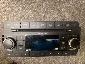 Chrysler, Jeep & Dodge Car & Truck Radio 2007, 2008, 2009 & 2010 AM FM mp3 CD with Aux Input for use with iPod, iPhone, iPad, Android, mp3 Players, S for Sale in Boca Raton, FL