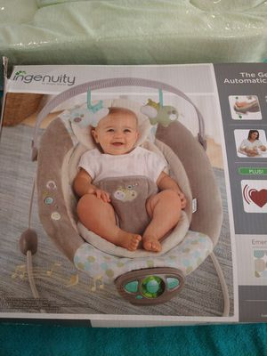 Baby bouncer chair works great clean $20 for Sale in Windsor Hills, CA