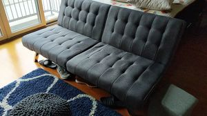 DHP Emily Futon Couch Bed Mint Condition for Sale in Raleigh, NC