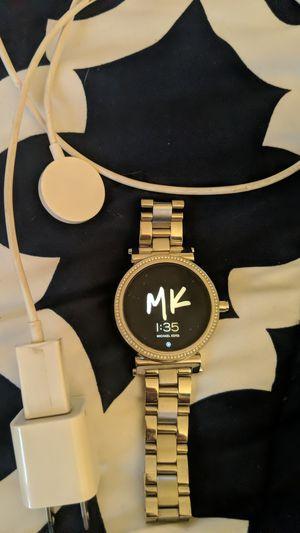 Michael Kors women's smart watch for Sale in Sterling, VA