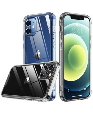 iPhone 12 Case, for iPhone 12 Pro Case, [Drop Protection] [Anti-Yellowing] Protective Slim Thin Cover for iPhone 12 for iPhone 12 Pro 2020 – Clear for Sale in Anaheim, CA