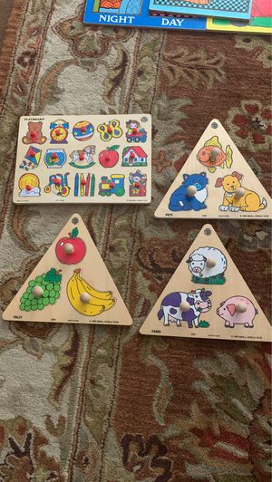 Wooden puzzles for Sale in West Linn, OR