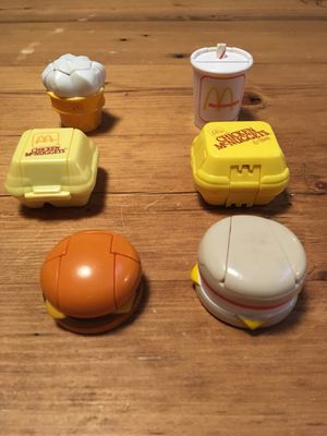 Vintage McDonalds Happy Meal Action Figure Toys for Sale in Mesa, AZ