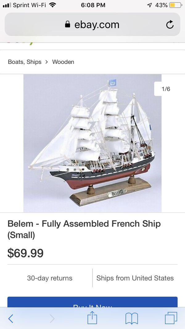 Belem French ship