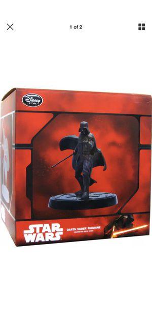Authentic Star Wars Darth Vader Figurine Disney Store Exclusive Bronze Statue for Sale in Richmond, TX