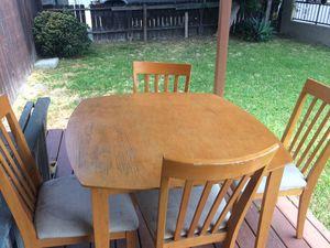 Four piece table set for Sale in La Mirada, CA