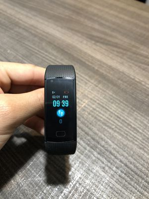 Sports Fitness Smart Watch Bracelet Waterproof Heart rate monitor Blood Pressure Steps Distance Calories and more for Sale in Fort Lauderdale, FL