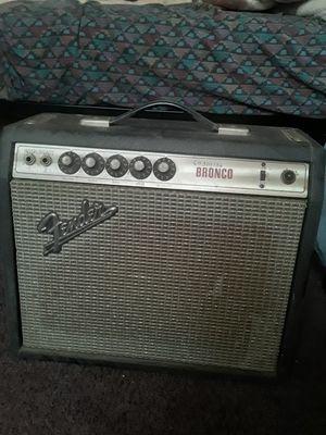 1960s Broncos Fender Guitar Amp for Sale in Riverside, CA