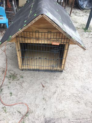 Large dog house with cage door for Sale in Temple Terrace, FL