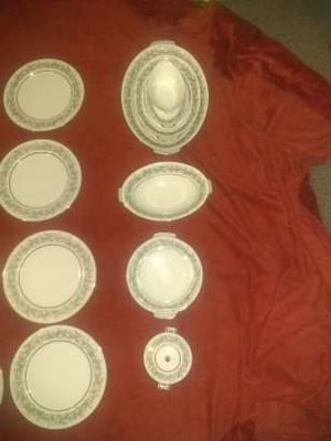 Fransisco antique 12pc siliver china set for Sale in Sedalia, MO