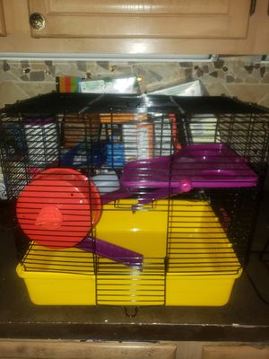 SMALL ANIMAL HAMSTER CAGE PLUS for Sale in Boca Raton, FL