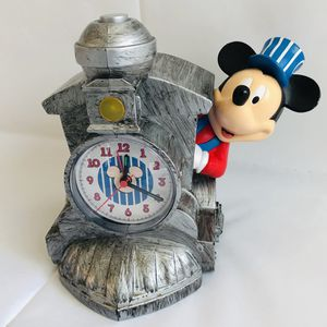 Disney's Mickey Mouse Train Engineer Alarm Clock Plays Train Sounds RARE for Sale in Cockeysville, MD
