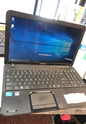 Toshiba laptop windows 10 w/charger for Sale in San Diego, CA