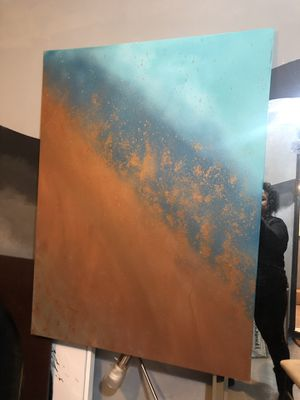 Abstract art on Canvas for Sale in Raleigh, NC