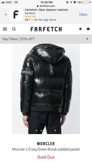 Moncler X Craig Green Brook Padded Jacket for Sale in Washington, DC