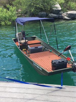 Aluminum boat for Sale in San Antonio, TX