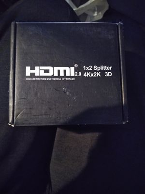 HDMI SPLITTER ..... TURN ONE HDMI TO TWO... $15 for Sale in Victorville, CA