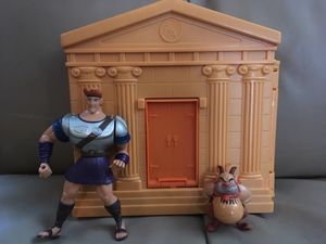 Rare Disney Hercules training gym play set for Sale in Lake Alfred, FL
