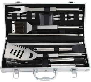Firm Price! Brand New in a Box 19-Piece Heavy Duty Stainless Steel BBQ Grill Tools Set, Located in North Park for Pick Up or Shipping Only! for Sale in San Diego, CA