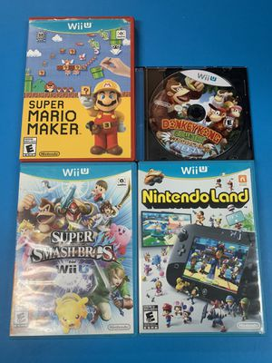 Nintendo Wii U games for Sale in Cypress, CA