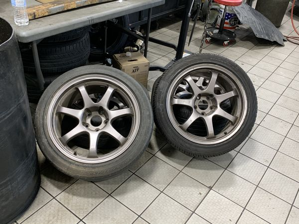 17x9 MB wheels and tires