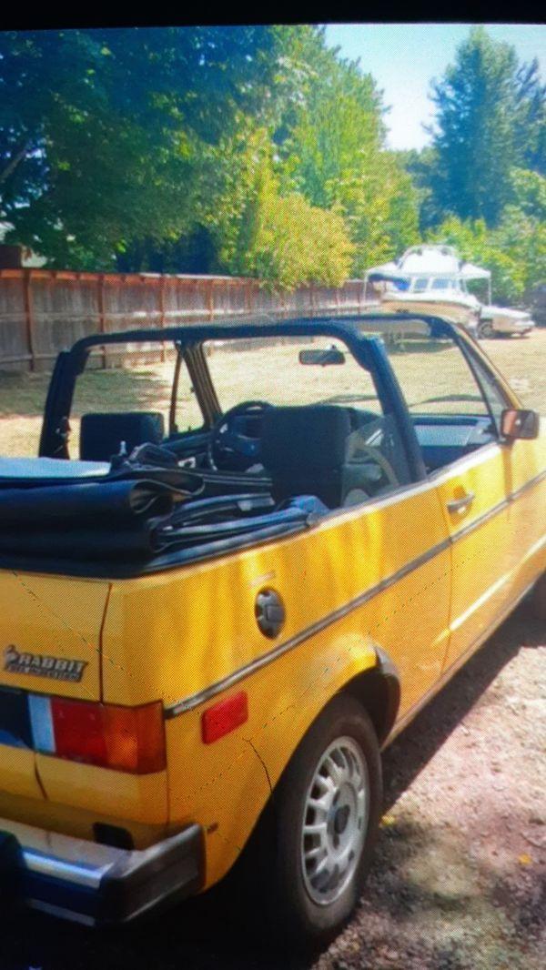 83 Volkswagon Rabbit Kharmann Clasic