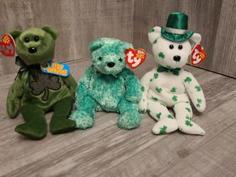 Beanie Babies LUCKIER, O'FORTUNE, LUCK-E for Sale in Everett,  WA