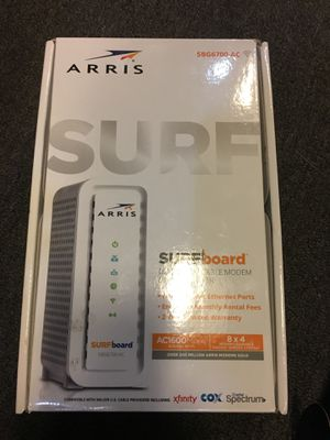 Arris surfboard cable modem & WiFi router **new** for Sale in Lebanon, PA