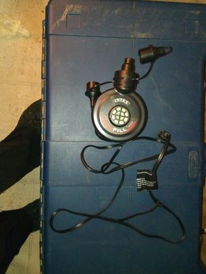Plug in air pump for Sale in Fayetteville, AR