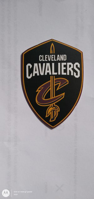 NBA CLEVELAND CAVALIERS BASKETBALL TEAM LOGO DECAL STICKER for Sale in Montclair, CA