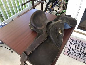 English leather saddle for Sale in Chesapeake, VA