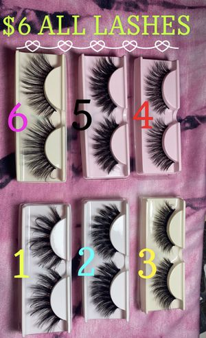 High Quality Beautiful Eyelashes! for Sale in Riverside, CA