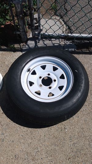 "13"" trailer tire and rim for Sale in Pawtucket, RI"