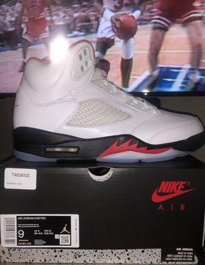 Air Jordan 5 OG Fire Red 5 Size 9 for Sale in New York, NY